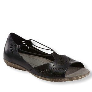 earth Camellia Nauset Wide Slip-on Flats Shoes